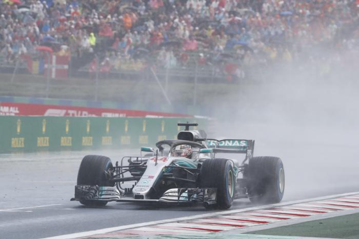 F1匈牙利站:Lewis Hamilton一路領跑奪冠