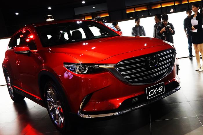 一分鐘認識 Mazda CX-9七人座旗艦