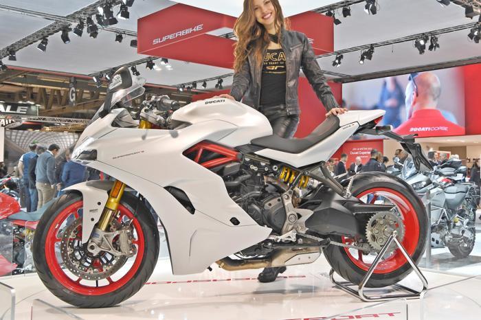 它的美讓Model遜掉  Ducati SuperSport獲選車展之后
