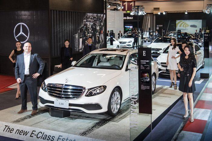 【2017台北車展】Mercedes-Benz展區重點分析