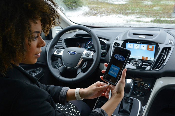 Ford車內就可聲控Amazon購物!