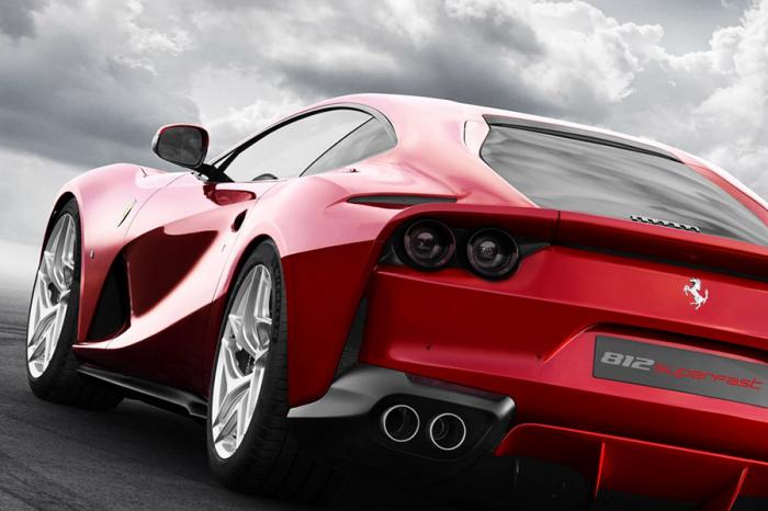 Ferrari法拉利812 Superfast將於日內瓦全球首發
