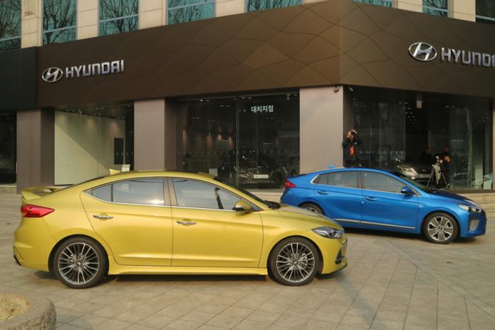 Hyundai韓國GDS展間參訪 Elantra Sport 、Ioniq Hybrid即將導入兩全新車款