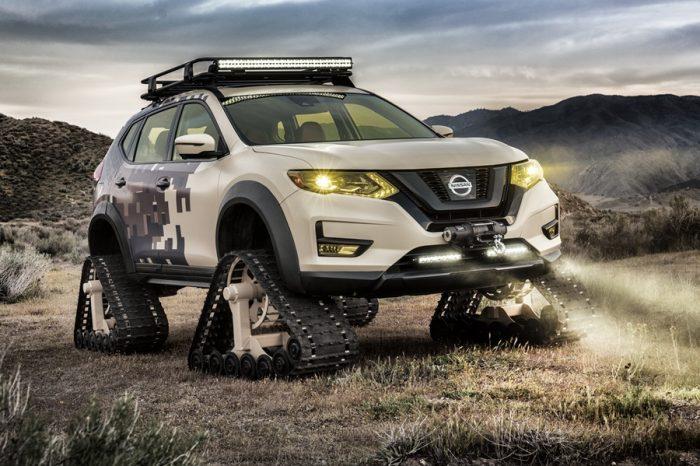 玩瘋了!熱銷休旅變身履帶車 NISSAN 推出Rouge Trail Warrior履帶車