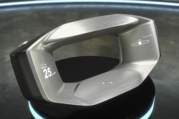 未來方向盤長這樣?? JLR發表Sayer概念方向盤
