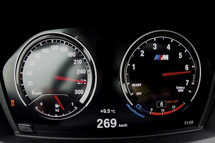 天元突破!BMW M2小改款的0-269 km/h極速測試!