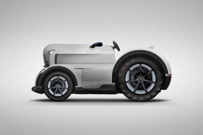 這個愚人節笑話太經典!Porsche打造最速環保農具Mission E Tractor!