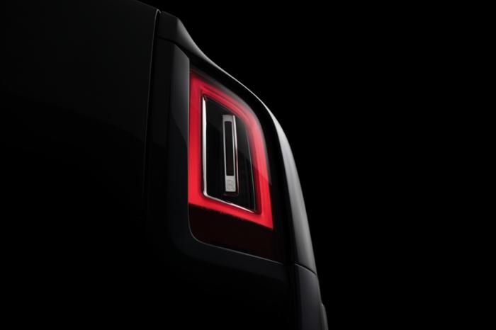 Rolls Royce Cullinan公布實車尾燈照