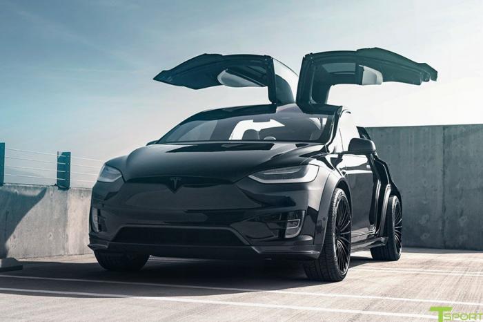 Tesla也可以改!T Sportline推出Model X空力套件