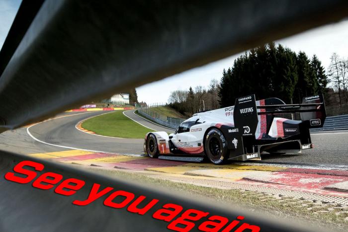 Porsche 919 Evo退出SPA賽道最速王位!F1賽車果然猛!