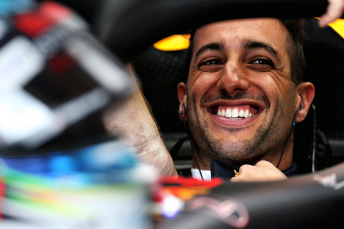 Daniel Ricciardo將離開紅牛轉為雷諾F1效力