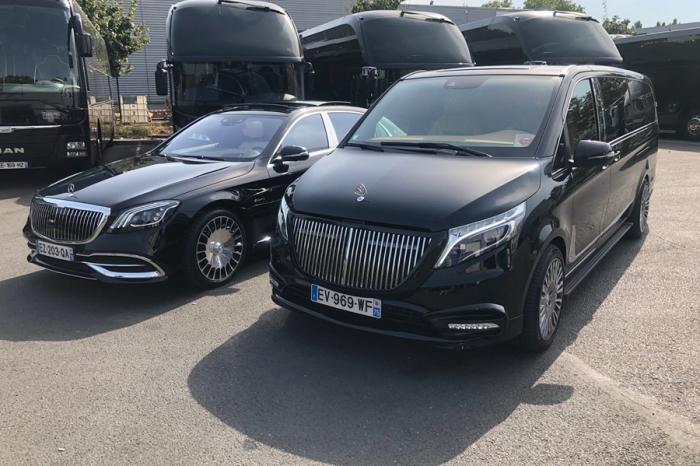 Mercedes-Maybach V-Class?改裝的啦!