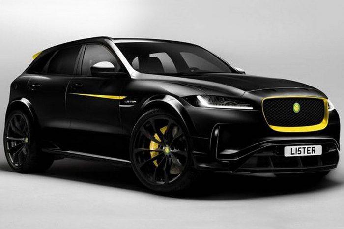 加入Lister元素的Jaguar F-Pace有著670HP的最大馬力和322 km/h以上的恐怖極速!