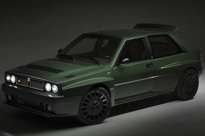 你願意花費千萬金錢來坐擁完整翻新的拉力傳奇「Lancia Delta Futurista」嗎?