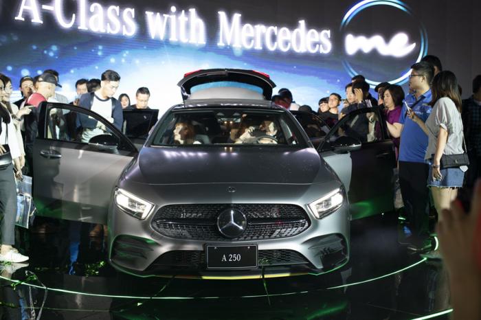 Mercedes-Benz限量款New A-Class Edition 1線上開賣!
