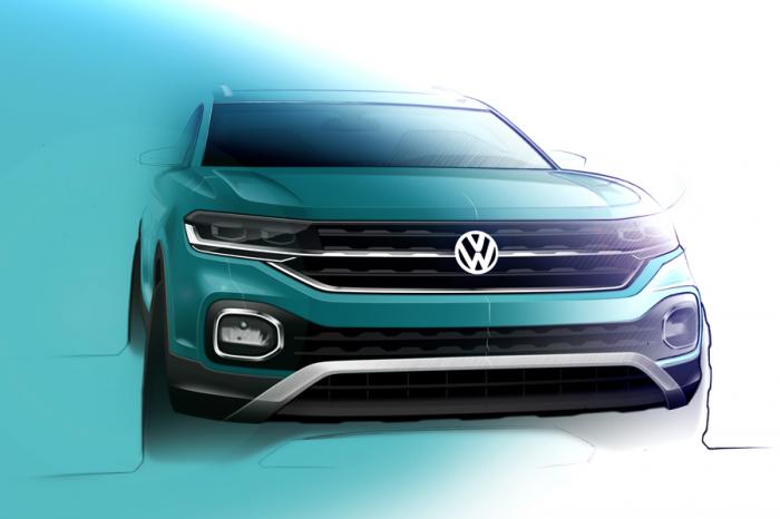 越來越小台!VW將推出新款小型跨界車T-Cross