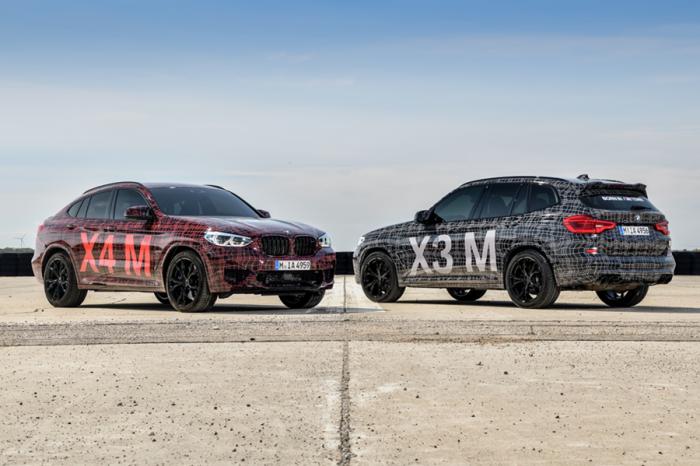 M Power添新軍!BMW 預告X3 M/X4 M將上市