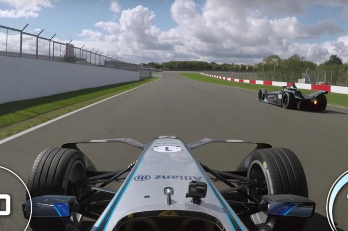 第二代Formula E電動賽車比較快嗎?差太大了吧!(影片)