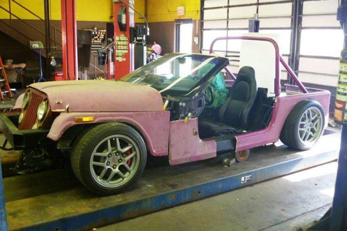經典Corvette跑車拆成這樣還要賣我14萬?