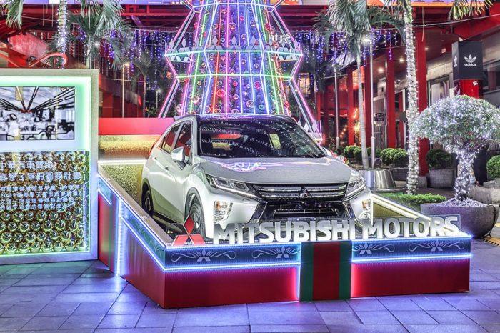 2019年式ECLIPSE CROS再進化!化身大型聖誕禮物?