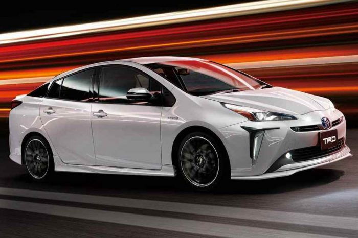 TRD證明了2019 Toyota Prius也可以很躍動