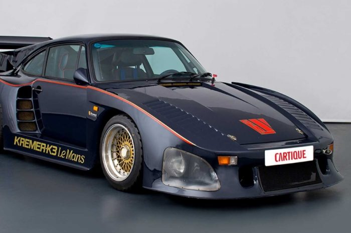 只此一部!能合法掛牌上路的Porsche 935