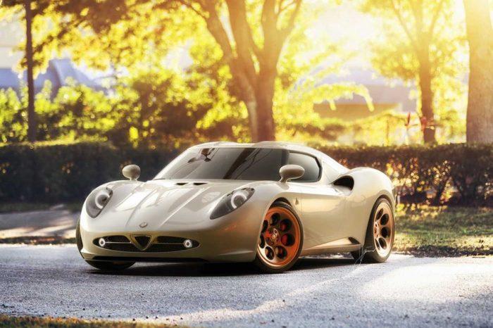 Alfa Romeo 4C竟能搖身一變成為古典美人?