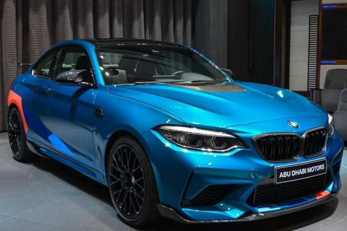 選滿M Performance配備的BMW M2 Competition!