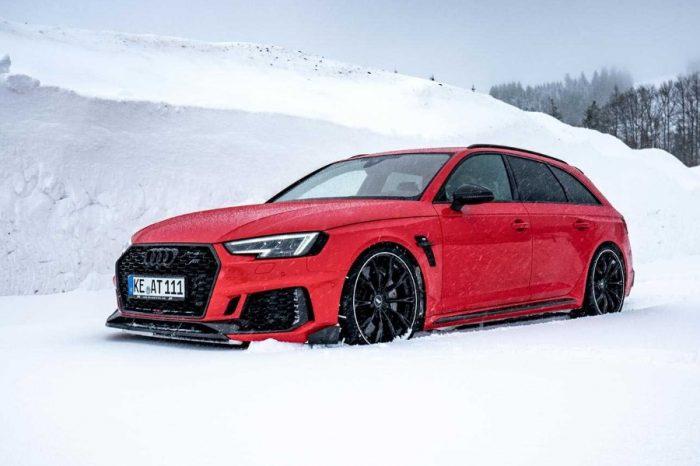 寒冬也難掩熱情的內在─ABT RS4+