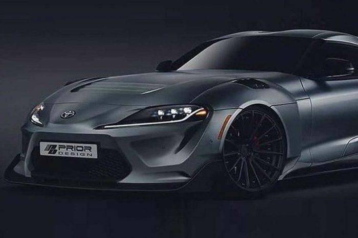 車都還沒來啊!Prior Design釋出Toyota Supra的寬體套件設計圖