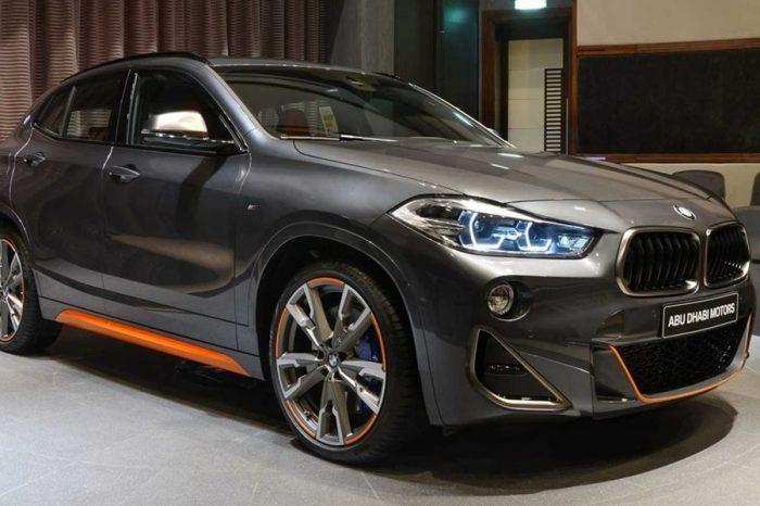 大膽配色完美符合了BMW X2 M35i喜好獨特的個性