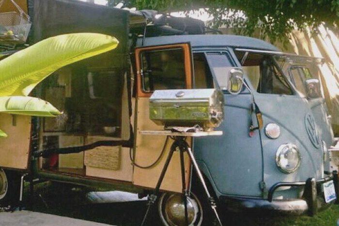 懷舊情!小巧可愛的Volkswagen復古露營車