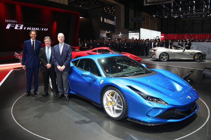 進入700匹俱樂部!Ferrari發表 F8 Tributo中置引擎雙座超跑