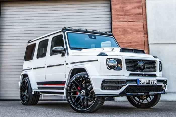 Lumma Design替Mercedes-AMG G63裝上誇張的6根排氣管