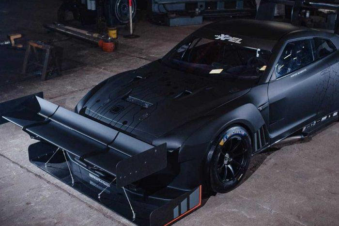 Nissan GT-R的巨大尾翼和1,600hp示範了何謂Hill Climb賽車