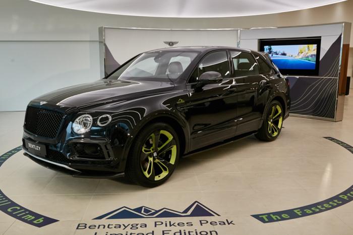 全球限量10輛!Bentley Bentayga Pikes Peak Limited Edition亮相!