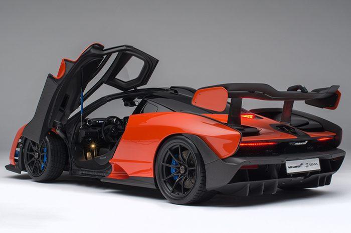 40萬買輛McLaren Senna模型車?加幾萬就能買真車了!