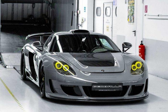 Gemballa耗時1,000+小時的Porsche Carrera GT改裝作品