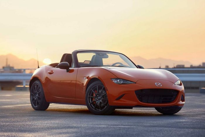由於需求強烈,Mazda再撥出更多MX-5 Miata 30th Anniversary的配額給北美