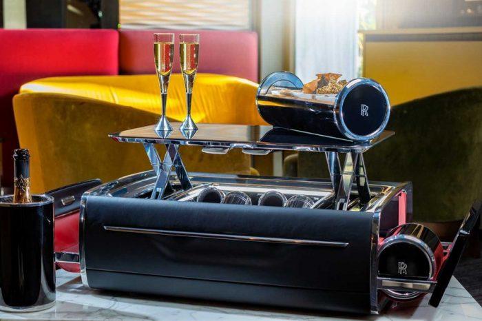 有錢人跟你想的不一樣?Rolls-Royce推出超高級的香檳收納展示組合