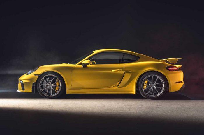 六缸回歸!Porsche 718 Cayman GT4與718 Spyder正式登場