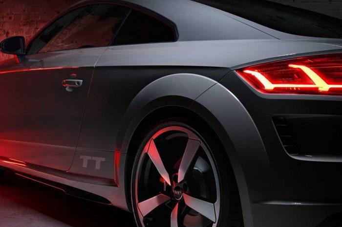 Audi TT Quantum Gray Edition是該廠第一輛限定線上銷售的車款