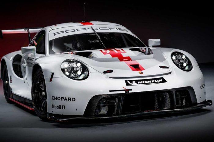 全新的Porsche 911 RSR賽車於速度嘉年華會發表
