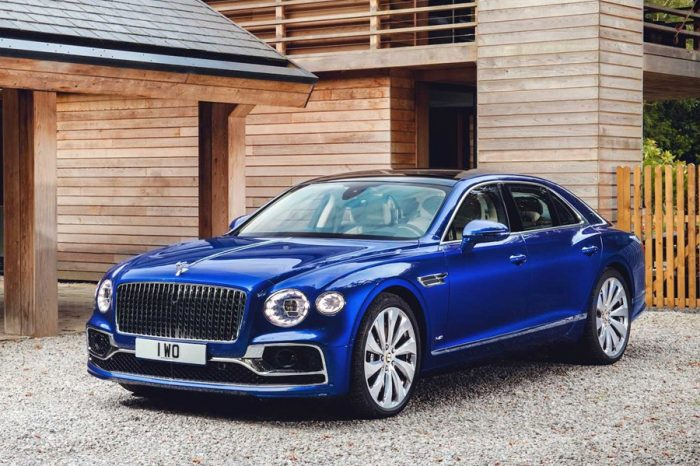 Bentley推出Flying Spur First Edition特別版車款