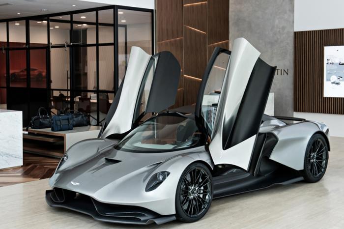 Aston Martin送給車迷年中彩蛋! Valhalla登台