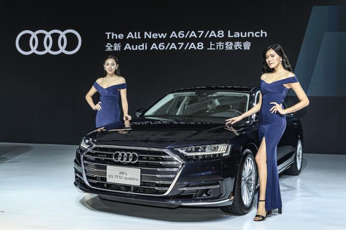 豪華軍團駕到!全新大改款Audi A6/A7/A8正式發表!