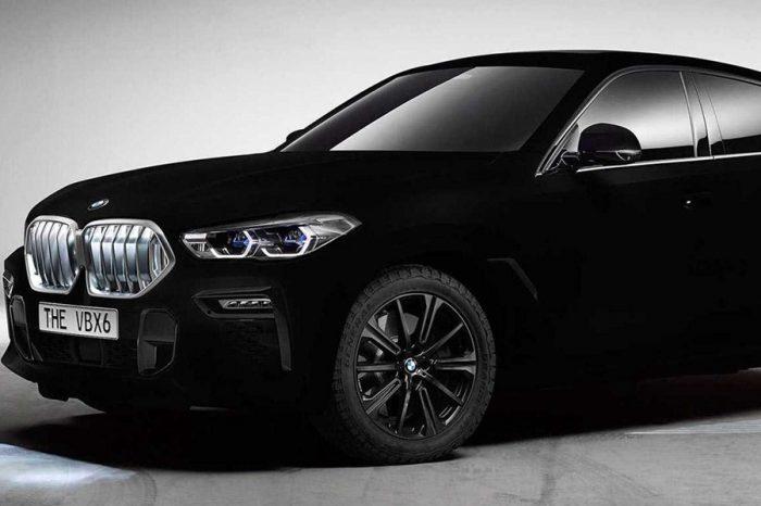 BMW X6包覆Vantablack之後讓你完全看不出身形