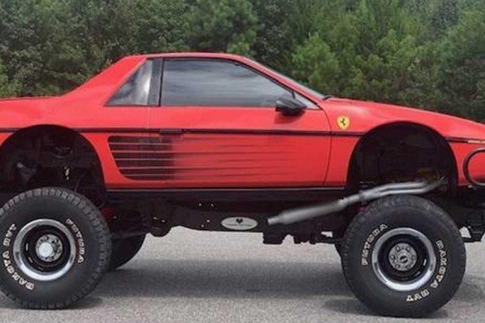 猜得到這輛Ferrari的來歷嗎?A車+B底盤竟然變成了C車