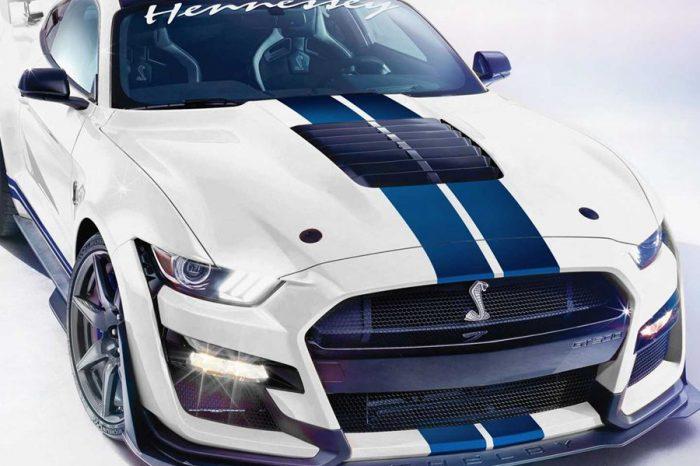 2020 Shelby GT500透過Hennessey的幫助獲得1,200HP的動力輸出