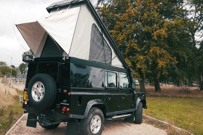 Allied Conversions以Land Rover Defender呈現近乎全能的露營車作品